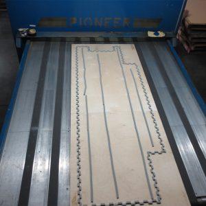 Commercial Flooring Die Cutting